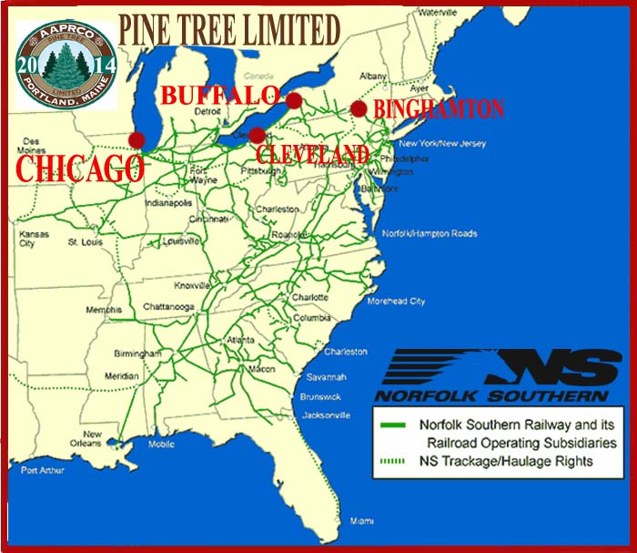 Dearing RailroadPine Tree LimitedAmerican Association Of Private - Norfolk southern system map