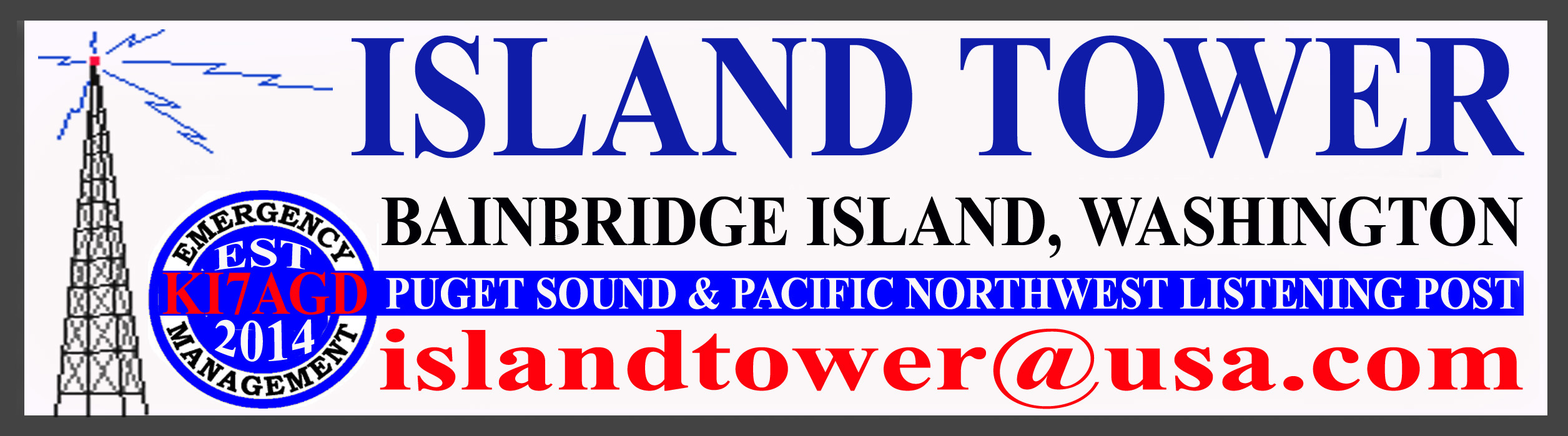 Island Tower Emergency Radio Communications Services/Puget
