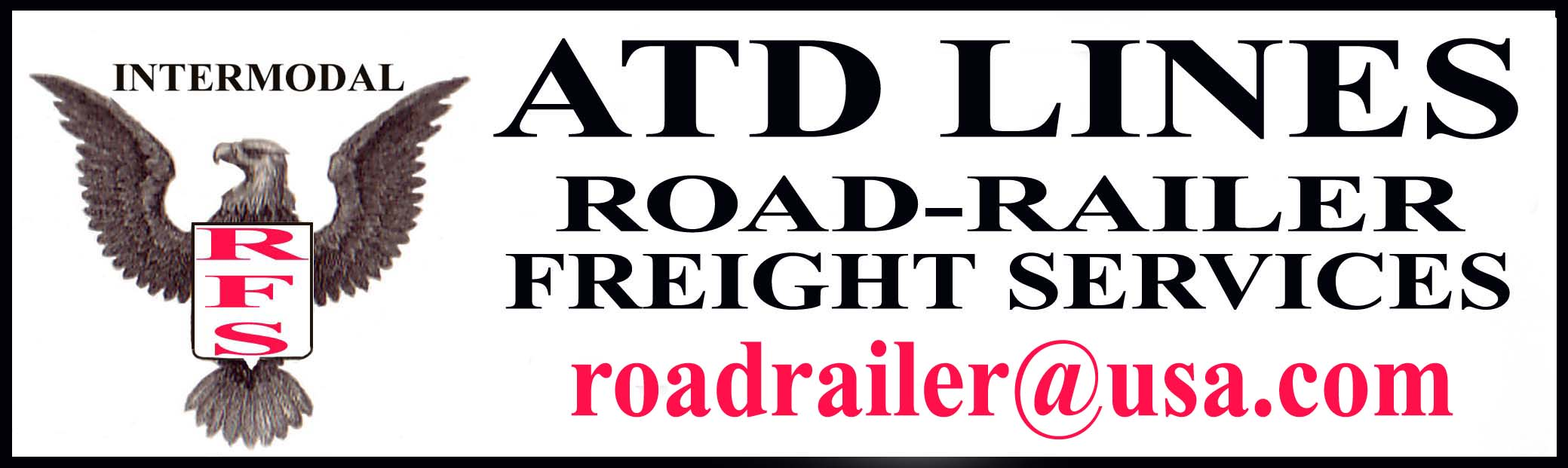 ATD LINES ROAD-RAILER FREIGHT SERVICES/RFS- Freight