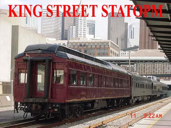 Private Railroad Passenger Coach